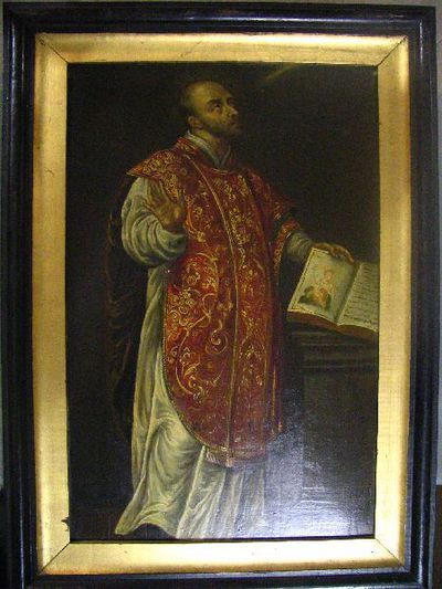 De heilige Ignatius van Loyola