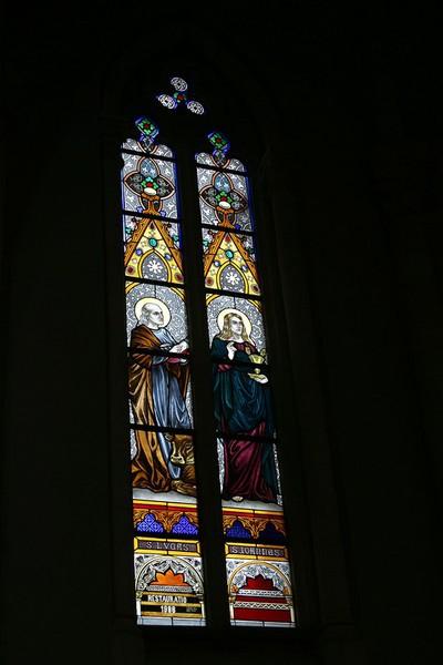 evangelisten Lucas en Johannes