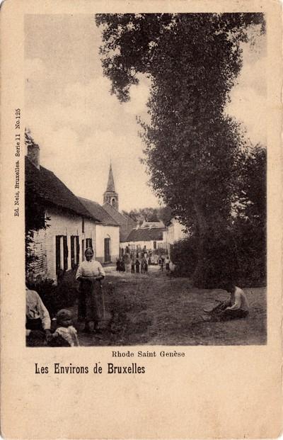 Dorpsgezicht van Sint-Genesius-Rode