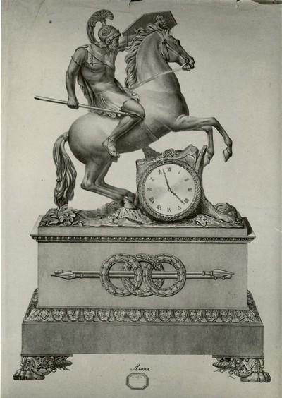 François Romain Jacquet (1788-?), Aronc, 19de eeuw, papier, lithografie.