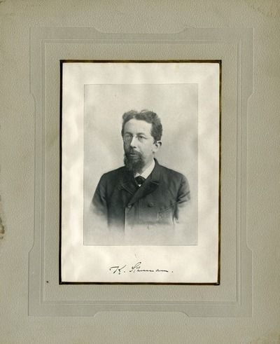 [PORTRAIT] Karl Moritz Schumann