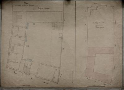 Plan du collège du roi de Louvain