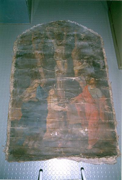 Calvarie of Christus sterft aan het kruis