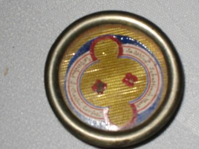 reliekhouder voor de relieken van de heilige Sebastiaan en Rochus