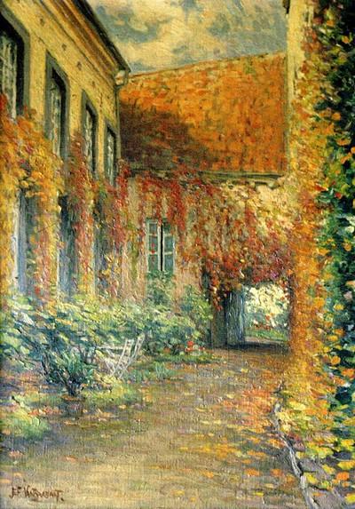 Jan Joseph Van Brabant (1874-1941), Stokerij Elens Molenpoort, s.d., olie op doek.