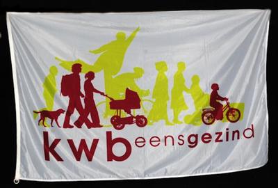 Vlag van K.W.B. nationaal 3 van Genenbos