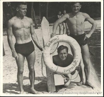 Genk reddingsboei van het zwembad