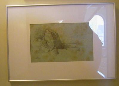 Godfried Egide Guffens (1823-1901), Capri, ca. 1850, potlood op papier.