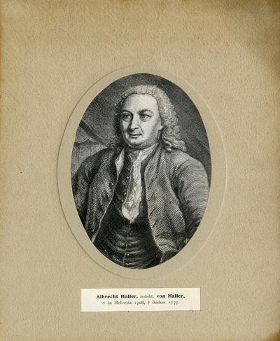 [PORTRAIT] Albrecht Haller, nobilit. von Haller