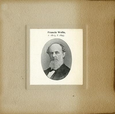 [PORTRAIT] Francis Wolle