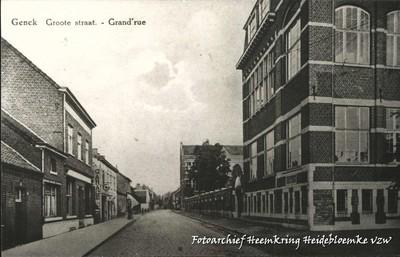 Genck Groote straat - Grand' rue