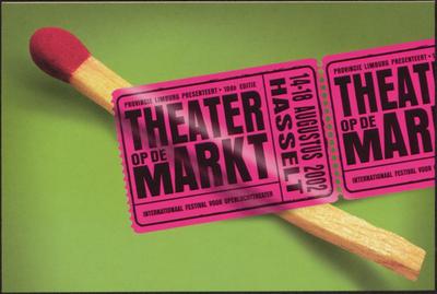 Theater op de markt. 14 - 18 augustus 2002 - Hasselt