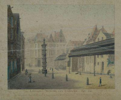 De Vismarkt in Leuven