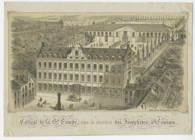 Collège de la Ste. Trinité, sous la direction des Joséphites, à Louvain