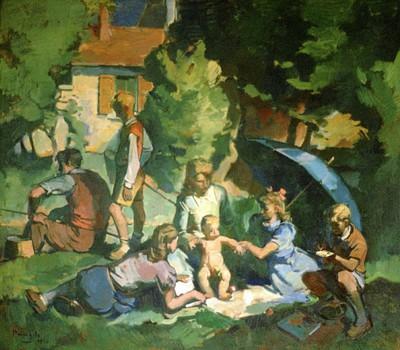 Leon Albert Henri Pringels (1901-1992), Week-End, 1950, olie op doek.