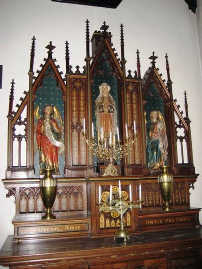 Altaar ter ere van de Heilige Landrada & Heilige Amor