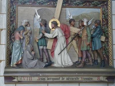 Kruiswegstatie 8