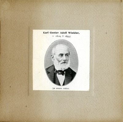 [PORTRAIT] Karl Gustav Adolf Winkler