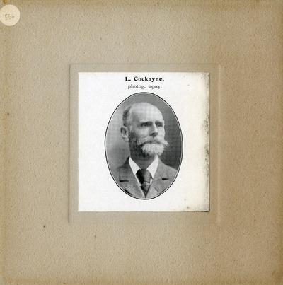 [PORTRAIT] L. Cockayne