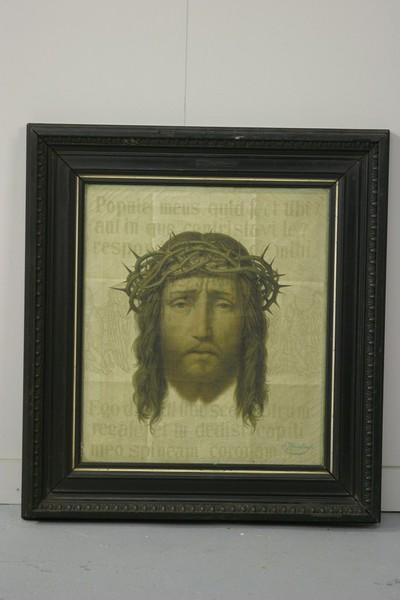 Ware gelaat van Christus