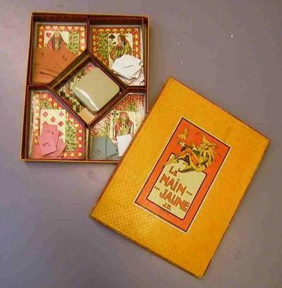 Anoniem, gezelschapsspel Le Nain ... jaune, s.d., karton, plastic.
