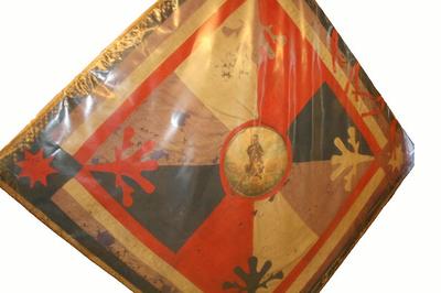 Vaandel van Koninklijke Schuttersgilde Sint-Rochus Genenbos oudste