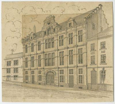 Oude dekenij van de lakenwevers in Leuven