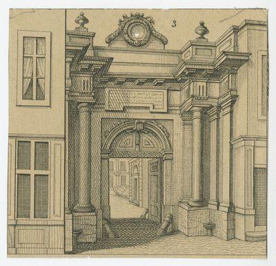 Poortgebouw van het Driutiuscollege in Leuven