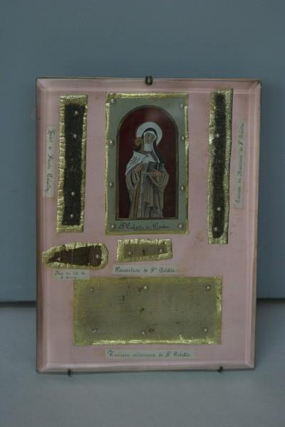 relieken van heilige Coleta van Corbie