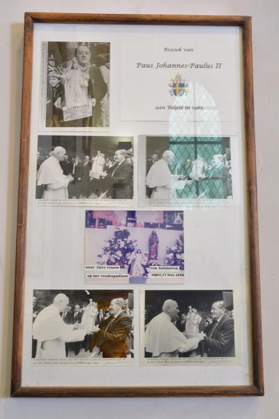 Bezoek van Paus Johannes Paulus II