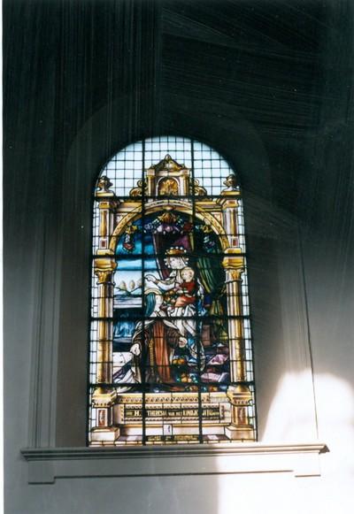 De heilige Theresia van het Kindje Jezus