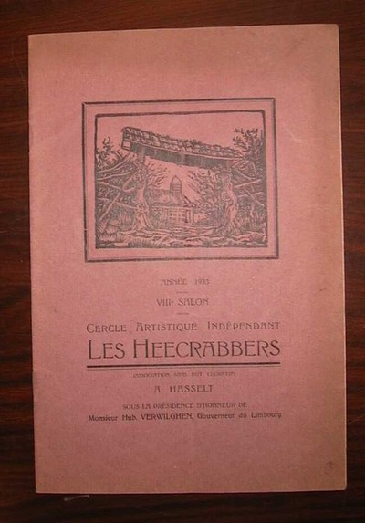 De Heecrabbers, catalogus VIIIe Salon - Cercle Artistique Indépendant Les Heecrabbers, Hasselt, 1933, papier.