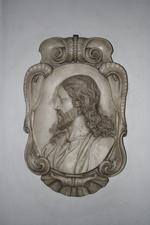 Medaillon met het profielportret van Christus