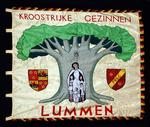 Vlag van gezinsbond Lummen Centrum 1956