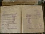 Handelsboek met bestellingen van hop voor brouwers