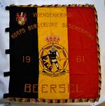 Vlag Vriendenkring Korps Burgerlijke Bescherming