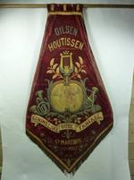 Vaandel van de Koninklijke Oude Fanfare Sint Martinus, Dilsen-Houtissen.