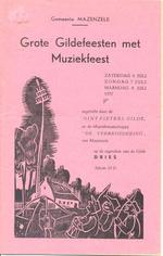 Grote Gildefeesten met Muziekfeest
