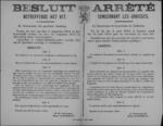 Hasselt, affiche van 20 november 1918 - vrijgave van handel in dierlijk en plantaardig vet, verbod op gebruik vet voor industriële toepassingen.