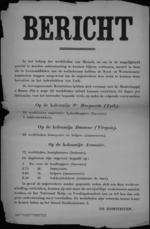 Hasselt, affiche - werklieden gezocht voor Luikse steenkoolmijnen.