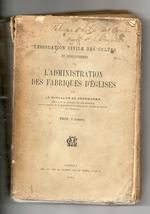 Handboek m.b.t. de kerkfabriek