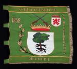Vlag van schuttersgilde Sint-Willebrordus Meldert