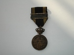 medaille van Krijgsgevangene met 5 zilveren palmen