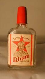 Fles 'Saint-Hubert, Rhum supérieur' voor Collas-Colleye, Tilff, ca. 1960
