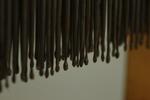 Pennen voor een kolbtoestel (honinglosser) met opbergdoos.