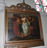 Jesus wordt ontkleed en met gal en azijn gelaafd