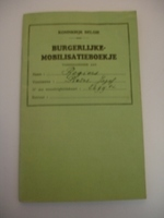burgerlijke mobilisatieboekje