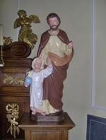 Sint Jozef met Jezus(kind)