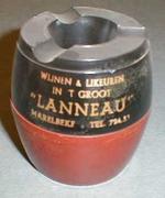 Asbak 'Lanneau' voor Lanneau, Harelbeke, ca. 1940-1950
