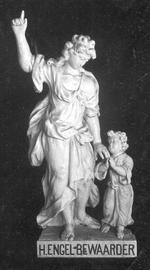 H. engelbewaarder met kind